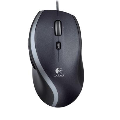 M500 [USB接続 7ボタン搭載 レーザーマウス ブラック Mouse M500]