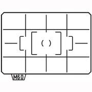 ML-60 [K-7用 フォーカシングスクリーン AF分割マット]