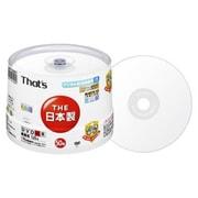 DR-C12WPY50BNT [録画用DVD-R 120分 1-16倍速 CPRM対応 50枚 インクジェットプリンタ対応]