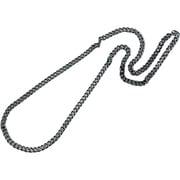 炭化チタンチェーンネックレス(留め金なし) [チタンネックレス(65cm)]
