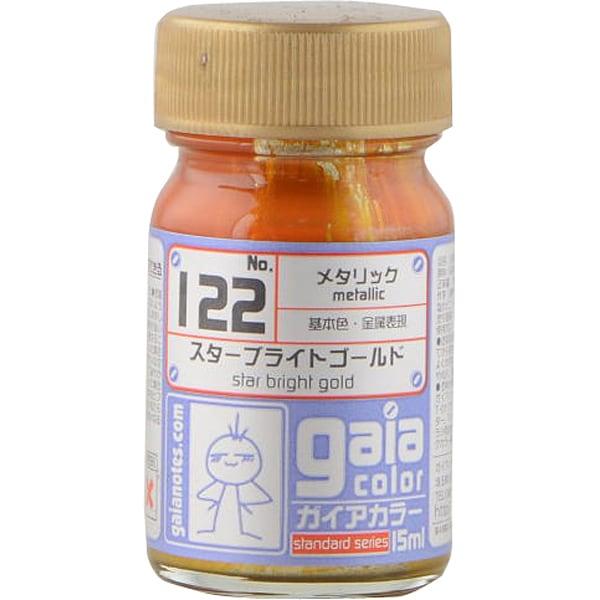 122 [ガイアカラー スターブライト ゴールド 15mL メタリック]