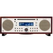 TVJPMSYDKCLA [デジタルAM/FMラジオ・ステレオ型CDプレーヤー ダークウォールナット/ベージュ]