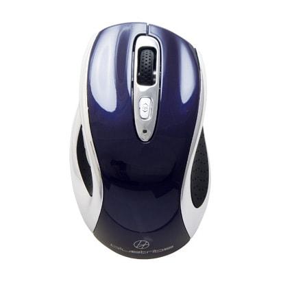 SBTP01BL [Bluetoothワイヤレスレーザーマウス 5ボタン1ホイール bluetribe ブルー]