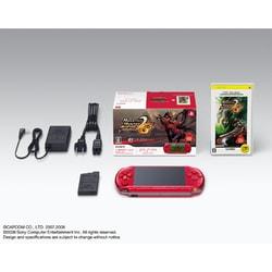 PSP(プレイステーション・ポータブル)新米ハンターズパック ラディアント・レッド PSPJ-30006
