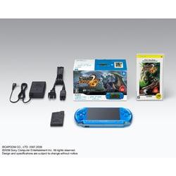 PSP(プレイステーション・ポータブル)新米ハンターズパック バイブラント・ブルー PSPJ-30007