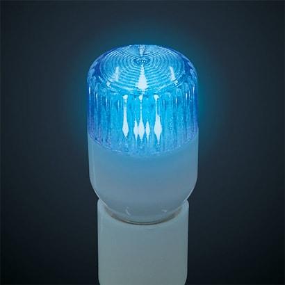 G-1008B-BL [LED電球 E12口金 ブルー]