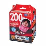 JPSK-L-200G [インクジェット用紙 デジカメ印画紙 強光沢 超厚手 L判 200枚]