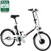 CY-SPJ220-W [折りたたみ式電動アシスト自転車(20型) ホワイト 電動ハイブリッド自転車 eneloop bike(エネループバイク) it's+シリーズ]