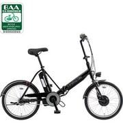 CY-SPJ220-K [折りたたみ式電動アシスト自転車(20型) ブラック 電動ハイブリッド自転車 eneloop bike(エネループバイク)]