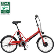 CY-SPJ220-R [折りたたみ式電動アシスト自転車(20型) レッド 電動ハイブリッド自転車 eneloop bike(エネループバイク)]