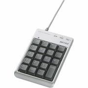 BSTKR01SV [USB接続 テンキーボード SD/miniSD/microSDカードリーダー/ライター付き シルバー]