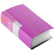 BSCD01F96PK [CD/DVDファイル ブックタイプ 96枚収納 ピンク]