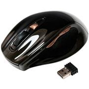 SLATLRF1BK [USB接続 2.4GHzワイヤレスレーザーマウス ONYX Lサイズ 5ボタン 1チルトホイール オニキスブラック]