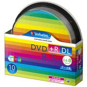 DTR85HP10SV1 [データ用DVD+R DL 片面2層 8.5GB 2.4-8倍速対応 10枚 インクジェットプリンタ対応]