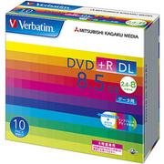 DTR85HP10V1 [データ用DVD+R DL 片面2層 8.5GB 2.4-8倍速対応 10枚 インクジェットプリンタ対応]