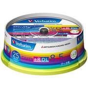 DTR85HP25V1 [データ用DVD+R DL 片面2層 8.5GB 2.4-8倍速対応 25枚 インクジェットプリンタ対応]