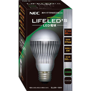 ELL6N-100V [LED電球 E26口金 白色相当 350lm LIFELED'S]