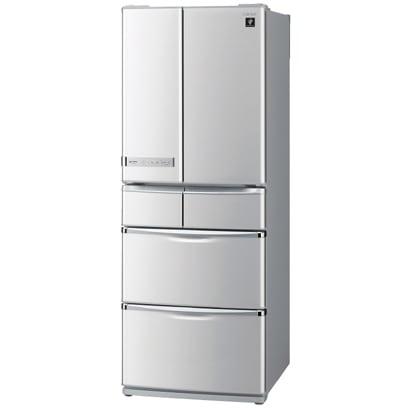 SJ-XF44S-S [冷蔵庫(440L・フレンチドア)プラズマクラスター冷蔵庫 シャインシルバー]