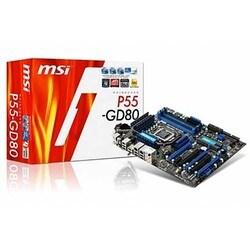 MSI P55-GD80 LGA1156 ATX DDR3 SDRAM Motherboard