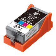 ECI-C19C [キヤノン BCI-19CLR 互換リサイクルインクカートリッジ カラー]