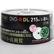 DR215DPWB30PS [録画用DVD-R DL 215分 2-8倍速 CPRM対応 30枚 インクジェットプリンタ対応]