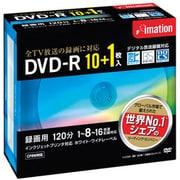 DVDR120PWBC11P [録画用DVD-R 120分 16倍速 CPRM対応 10+1枚 インクジェットプリンタ対応]