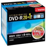 DVDR120PWBC21P [録画用DVD-R 120分 16倍速 CPRM対応 20+1枚 インクジェットプリンタ対応]