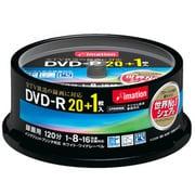DVDR120PWBC21S [録画用DVD-R 120分 16倍速 CPRM対応 20+1枚 インクジェットプリンタ対応]
