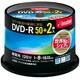 DVDR120PWBC52S [録画用DVD-R 120分 16倍速 CPRM対応 50+2枚 インクジェットプリンタ対応]
