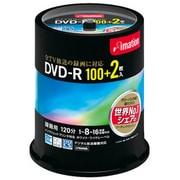 DVDR120PWBC102S [録画用DVD-R 120分 16倍速 CPRM対応 100+2枚 インクジェットプリンタ対応]