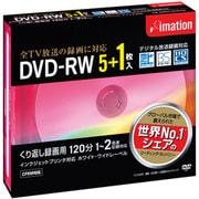 DVDRW120PWAC6P [録画用DVD-RW 120分 2倍速 CPRM対応 5+1枚 インクジェットプリンタ対応]
