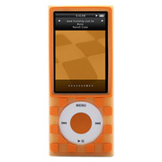 NA509011-O [第5世代 iPod nano専用シリコンケース Bone Nano5 Cube (ボーン ナノ5 キューブ) オレンジ]