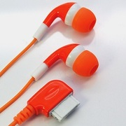 RX-IHPCLFOR FOMA用ステレオイヤホン オレンジ