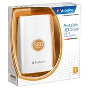 HDPU320GVW [USB接続 ポータブルHDD 320GB ホワイト]