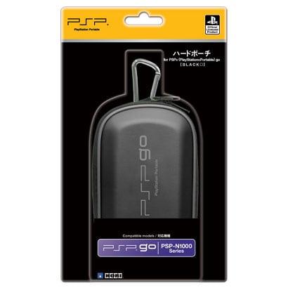 ハードポーチ for PSP go ブラック HPG-05 [PSPgo用]