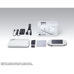 PSP「プレイステーション・ポータブル」(PSP-3000)バリューパック パール・ホワイト PSPJ-30009