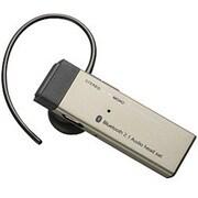 LBT-HPS01C2AGD [Bluetooth2.1対応 ハンズフリーヘッドセット ACアダプタ付き ゴールド]