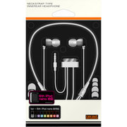 RT-NSE3/B [iPod nano用 ネックストラップ・インナーイヤーヘッドホン ブラック]