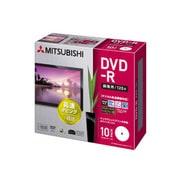 VHR12JDP10H5 [録画用DVD-R 120分 1-16倍速 CPRM対応 10枚 インクジェットプリンタ対応]