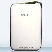 MP-2000W [MiLi Power Crystal Black for iPhone/iPod 2000mAh ホワイト]