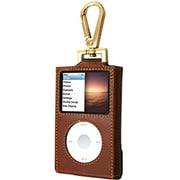 TUN-IP-100153 [iPod classic用 フックスタイルキャリングケース ブラウンレザー]