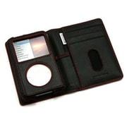 PRIE TUNEWALLET for iPod classic B/R ブラックレザー/レッドスティッチ [TUN-IP-300026]