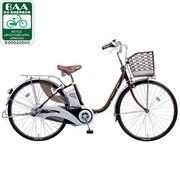 BE-END432T2 [電動アシスト自転車(24型) チョコブラウン リチウムビビ・DX]