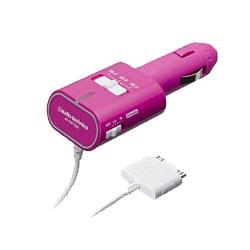 AT-FMT700i PK [FMステレオトランスミッター iPod専用 ピンク]