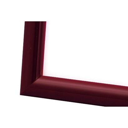 木製ナチュラルパネル レッド