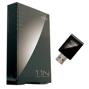 CG-WLR300NM-U [IEEE802.11n/g/b 規格対応 無線LANルータ&無線LAN USBアダプタ セットモデル]