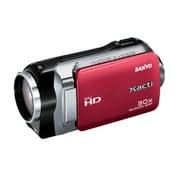 VPC-SH1PX R [スリムフルHD デジタルムービーカメラ レッド 海外仕様製品]