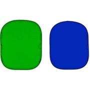 LC5987 [折り畳み式 リバーシブル クロマキー ブルー/グリーン 180×215cm]