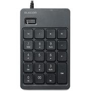 TK-TCM007BK [2ポートUSBハブ付 USB接続テンキー ブラック]