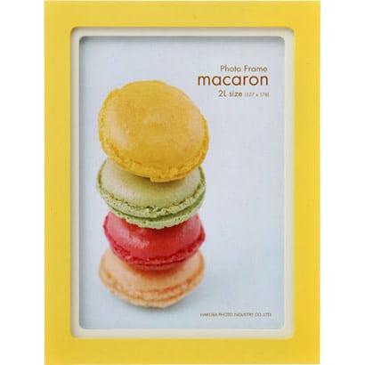 FWMC-LM2L [フォトフレーム マカロン -macaron- 2L レモン]